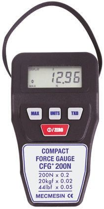 "Digital Force Gauge ""Mecmesin"" Model CFG+200"
