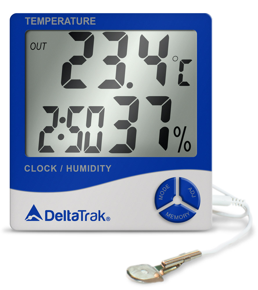 "Digital Thermo-Hygrometer ""Deltatrak"" model 13309"