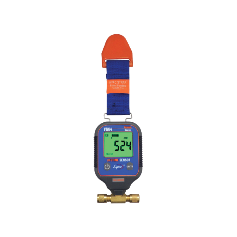 "Digital Vacuum Gauge ""Supco"" Model VG64"