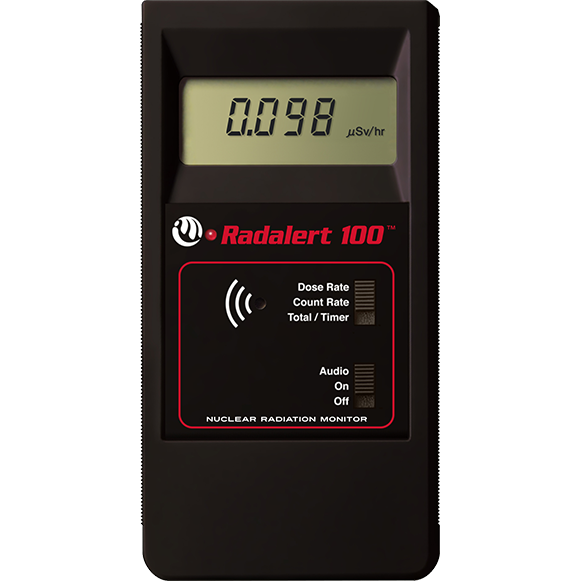 "Nuclear Radiation Monitor ""Medcom"" Model Radalert  100X"