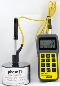 "Portable Hardness Tester ""Phase II"" Model PHT-1800"